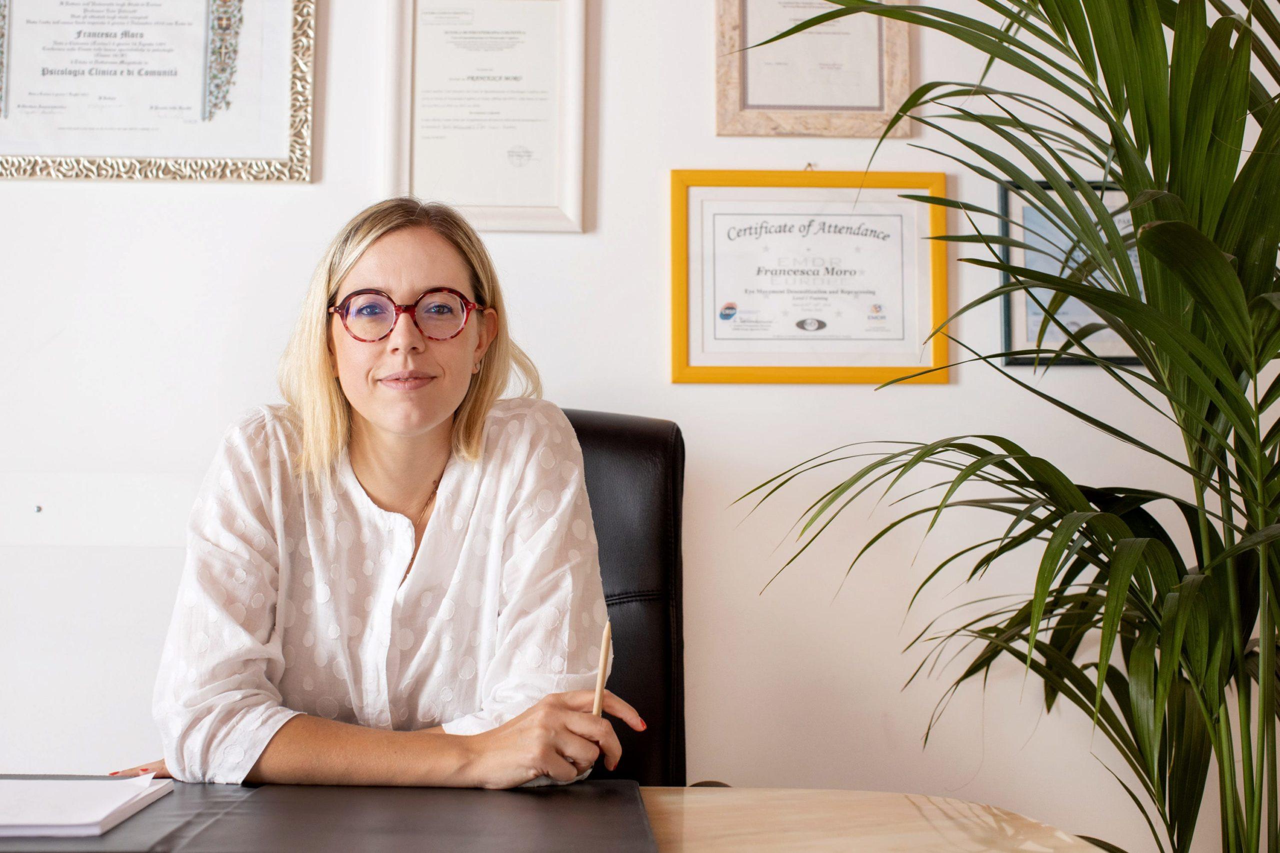 Dott.ssa Francesca Moro, Psicologa e Psicoterapeuta Cognitiva
