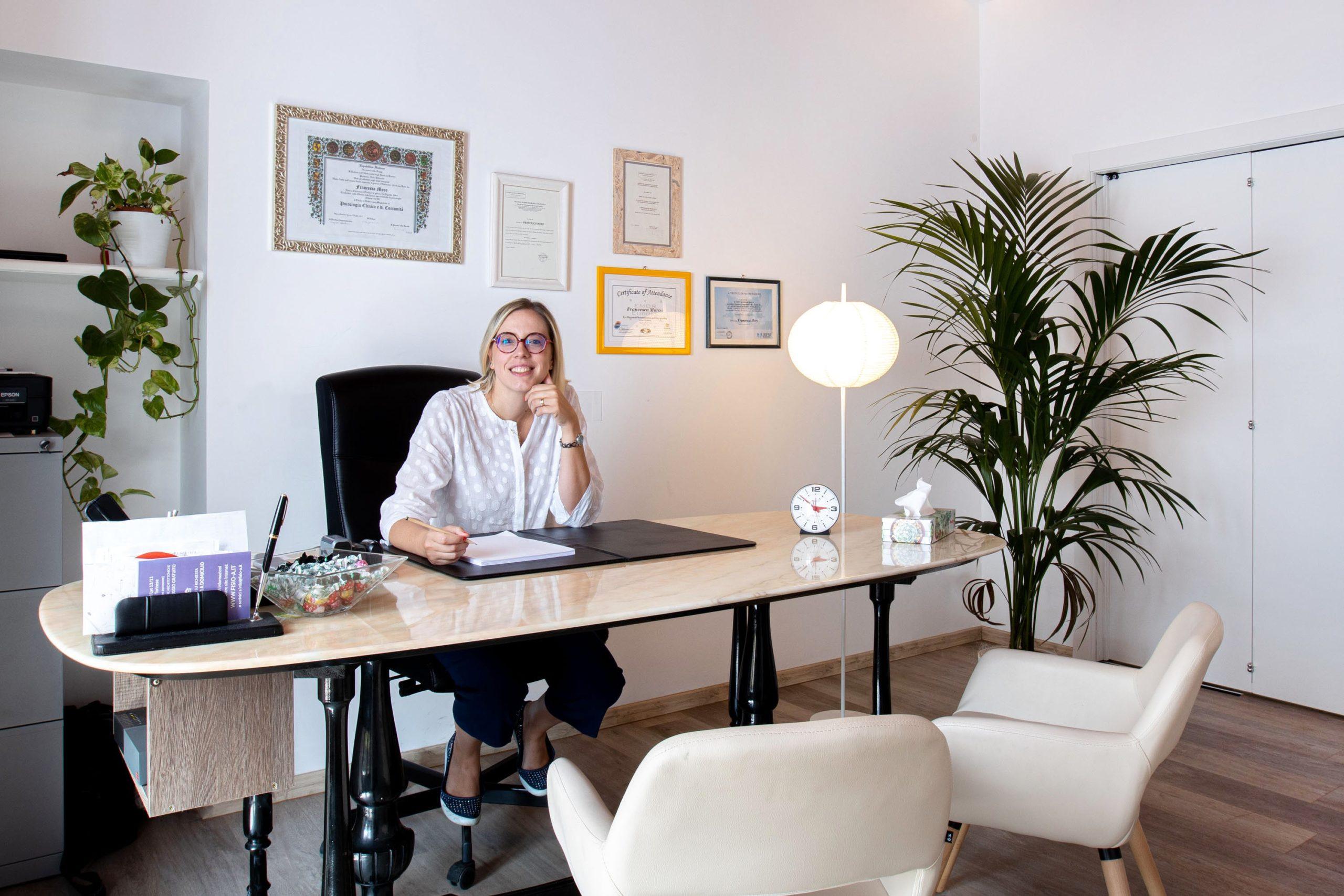 Psicologa e Psicoterapeuta Cognitiva: Francesca Moro
